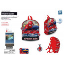 Spiderman - backpack 31x24x10cm 100% polyester