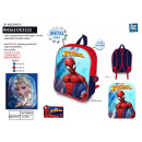 Spiderman - backpack 31x25x11cm 100% polyester