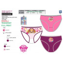 wholesale Underwear: Paw Patrol - kit of 3 panties 100% coto