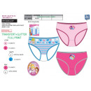wholesale Underwear: Princess - box of 3 panties 100% coton