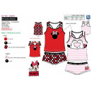 Minnie - conjunto superior y shorty 95% algodón /