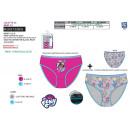wholesale Underwear: My Little Pony - 2 pack 100% coton