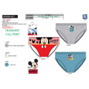 wholesale Underwear: Mickey - box of 3 briefs 100% coton