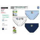 wholesale Underwear: BEN 10 - box of 3 briefs 100% coton