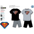 Superman - pyjacourt T-Shirt & sh 100% katoen