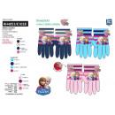 frozen - multi composition gloves