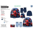 Spiderman - set 2 pieces hat & gloves 100% p