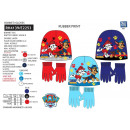 wholesale Licensed Products: Paw Patrol - set 2 pieces hat & gloves multi