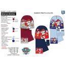 Paw Patrol - bufanda y guantes de 3 piezas