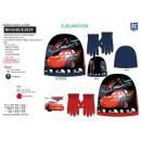 CARS 3 - set 2 pièces bonnet & gants 100% p
