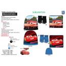 Cars 3 - set 3pcs sombrero y collar y guantes mul