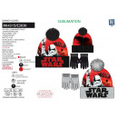 Star Wars VIII - set 2 pieces hat & gloves 100