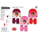 ELENA OF AVALOR - set 2 pieces hat & gloves mu