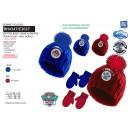 PAW PATROL - set 2 pièces bonnet & gants 100%