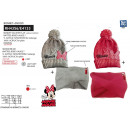 Minnie - set 2 pcs hat + multi collar