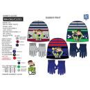 BEN 10 - set 2 pièces bonnet & gants multi