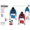 MICKEY - ensemble peruvien & gants multi compo