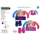 SHIMMER AND SHINE - set 2 pieces hat & gloves