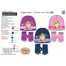 TANGLED series - set 2 pieces hat & gloves mul