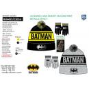 Batman - set 2 pezzi cappello e guanti multi