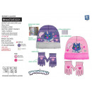 wholesale Licensed Products: HATCHIMALS - set 2 pieces hat & gloves 100% p