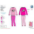 Barbie - long pajamas in a 100% polyester box