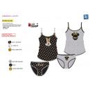 Minnie - tank top & panties 100% coto