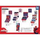 groothandel Licentie artikelen: Spiderman - sokken 40% CO55% TP3 VIS2% e%