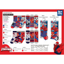 SPIDERMAN - pack 3 chaussettes 40% co55% pe3