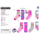 My Little Pony - pack 3 socks 40% co55% pe3