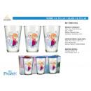 Großhandel Bilder & Rahmen: frozen - 23,7cl Glas 3 Teile
