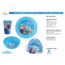 frozen - plastic lunch set 3 delen