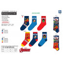 Avengers CLASSIC - pack 3 socks 40% co55% pe