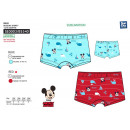 wholesale Underwear: Mickey - boxer bath sublim dev / back 85% p