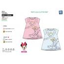 Großhandel Lizenzartikel: Minnie - Kurzarmkleid aus 100% Baumwolle
