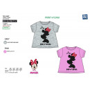 Minnie - 100% coton Short Cuff T-Shirt