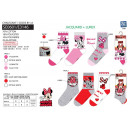 Minnie - pack 3 socks 70% cotton 18% polyest
