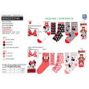 MINNIE - pack 3 chaussettes 70% cotton 18% polyest