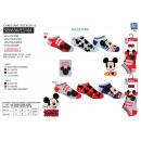 Mickey - pack 3 socks low 55% c