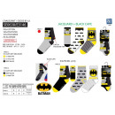 Batman - pack 3 socks 70% cotton 18% polyest
