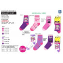 Barbie - Pack 3 Socken 70% Baumwolle 18% Polyester
