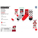 Minnie - socks 70% cotton 18% polyester 10%