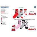 Minnie - Pack 3 Socken 70% Baumwolle 18% Polyester