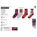 wholesale Socks and tights: Spiderman - socks 70% cotton 18% polyester 1