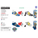 Paw Patrol - pack 3 socks low 55% c