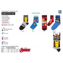 Avengers CLASSIC - socks 70% cotton 18% poly