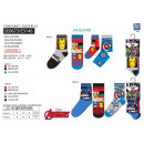 Avengers CLASSIC - pack 3 socks 70% cotton 1