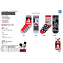 Mickey - socks 70% cotton 18% polyester 10%