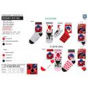 Großhandel Socken & Strumpfhosen: LADY BUG - Pack 3 Socken 70% Baumwolle 18% Poly