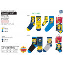 FIREMAN SAM - pack 3 chaussettes 70% cotton 18% po